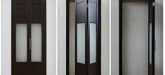 Интересное о монтаже складных дверей